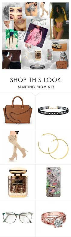 """""""Kylie Jenner 22"""" by nikoleta-nicky-malik ❤ liked on Polyvore featuring Michael Kors, LULUS and By Terry"""