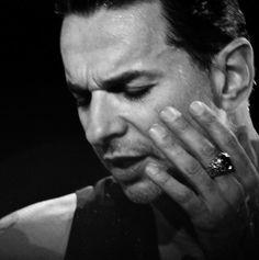 Dave Gahan of Depeche Mode during TOTU - 2009/10