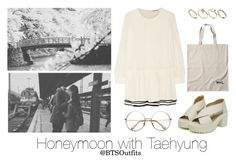 Honeymoon with Taehyung by btsoutfits on Polyvore featuring polyvore, fashion, style, See by Chloé, ASOS and clothing