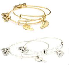 Moq Material Gold Filled Silver Alloy Eu Standard Style Best Friends Alex And Ani Bracelet
