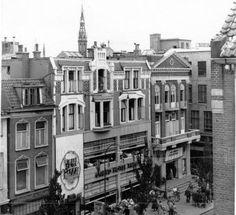 Groningen<br />De stad Groningen: Herestraat nummer 74. Het Luxor theater in 1955