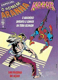 Homem-Aranha e Kazar  n° 1/Abril | Guia dos Quadrinhos