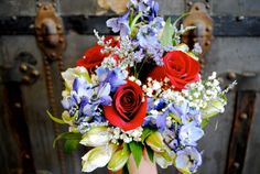 Red, White, and Blue Bouquet!