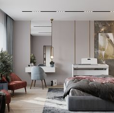 Apartment in Kazan, Russia.What: Apartment Small Apartment Interior, Small Apartment Design, Small Apartments, Family Apartment, Kitchen Room Design, Bathroom Interior Design, Girl Bedroom Designs, Living Room Designs, Hotel Bedroom Decor