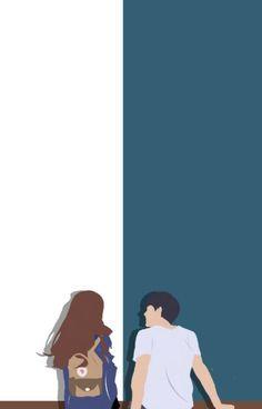 Wattpad Cover Template, Wattpad Book Covers, Cute Couple Drawings, Cute Couple Art, Cute Couple Wallpaper, Animated Love Images, Islamic Cartoon, Digital Art Girl, Cartoon Art Styles