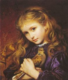 The Turtle Dove by Sophie Anderson :: artmagick.com