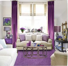 """""""Purple Room"""" by sweetannie Feng Shui, Purple Rooms, Interior Decorating, Interior Design, My Room, My Dream Home, Living Room Decor, Sweet Home, New Homes"""