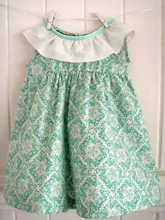 Mint Printed Cotton Toddler Girls Dress with Gorgeous flounce and ribbon neckline Size 2 Toddler Girl Dresses, Toddler Girls, Girls Dresses, Summer Dresses, Printed Cotton, Size 2, Ribbon, Mint, Neckline