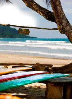 Santa Teresa Beach, Surfing