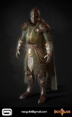 ArtStation - Iron Blade Armor 14B, Tibi Neag Character Portraits, Character Art, Character Design, Medieval Drawings, Inspiration Drawing, Crusader Knight, Green Knight, Knight In Shining Armor, Medieval Knight