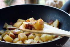 Patate croccanti cotte in padella