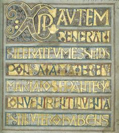 Codex Aureus An inscription asks for prayers for four individuals, one a goldsmith (Wulfhelm; the others are Ceolhard, Niclas and Ealhhun), who were presumably the monks responsible for creating