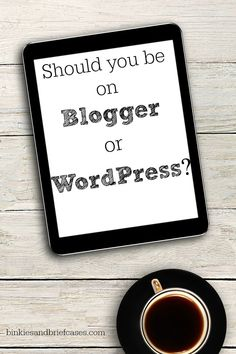Some great points about both options to consider. Should bloggers be on the WordPress or Blogger platform?