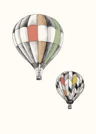 Briki Vroom Vroom `Kaart Luchtballon`