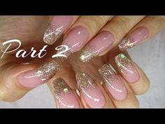 ♡ How to: Gold Foiled French Manicure Gelnails - YouTube