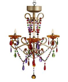 Another great find on #zulily! Carnivale Remote Control Chandelier #zulilyfinds