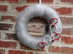 Yarn wreaths wreaths and yarns on pinterest