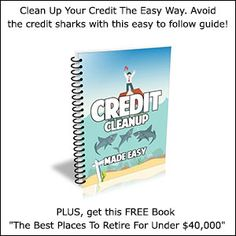 Credit Clean Up Made Easy - Clean Up Your Credit The Easy Way. Avoid the credit sharks with this easy to follow guide!