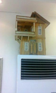 El yapimi dekor ev
