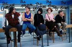 Doyouremember The Breakfast Club?  And the 5 student stars — Allison Reynolds (Ally Sheedy), Andrew Clark (Emilio Estevez), John Bender (Judd Nelson), Brian Johnson (Anthony Michael Hall), and Claire Standish (Molly Ringwald)—  What do you remember?