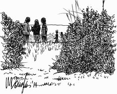 Urban Sketchers Chicago: Tuesday Tips  Tricks: How to include people in your urban sketches