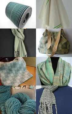 Show Some Green! by #aclhandweaver #handweaversofetsy #spring #marchstyle #april