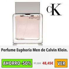 Perfume Euphoria Men de Calvin Klein. #ofertas #descuentos