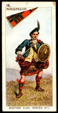 Cigarette Card - Clan MacGregor | Flickr - Photo Sharing!
