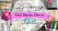 Diy Projects For Teenage Girls Room : 25 Teenage Girl Room Decor Ideas A Little Craft In Your Daya Models