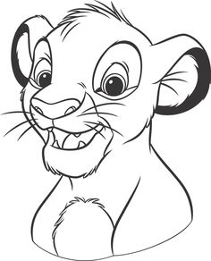 Lion King Coloring Pages For Kids from Cartoon Lion King Coloring Pages for Kids. Coloring The Lion King is excellent leisure time for a child who loves an animated masterpiece by Walt Disney Studio. Here you will find coloring pict. Lion Coloring Pages, Cartoon Coloring Pages, Disney Coloring Pages, Coloring Pages For Kids, Coloring Books, Kids Coloring, Online Coloring, Lion King Drawings, Horse Drawings