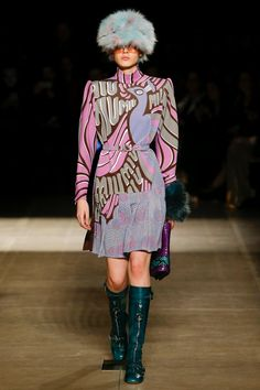 Miu Miu Fall 2017 Ready-to-Wear Fashion Show - Mag Cysewska