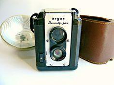 Vintage Argus Argoflex Seventy Five TLR Camera by EitherOrFinds, $65.00