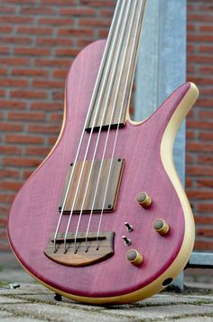Adamovic 5 string bass guitar