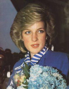 11 feb 1984 Diana in Norway