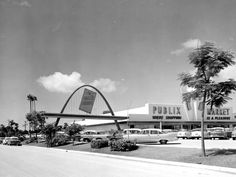 Publix super market - Bradenton, Florida, 1958.