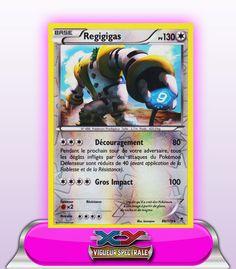 Carte Pokemon Neuve Française XY4:Vigueur Spectrale 86//119 Regigigas Holo