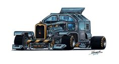 Killer Truck Brutus by vsdesign69.deviantart.com on @DeviantArt