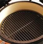 """Amazon.com: Big Green Egg Large Cast Iron Dual Side Grid Cooking Grate 18"""" 18CI: Patio, Lawn & Garden"""