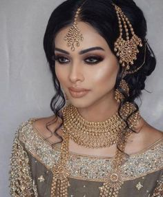 63 Ideas For Indian Bridal Makeup Looks Receptions Bridal makeup – Wedding Dress Bridal Dupatta, Pakistani Bridal Makeup, Indian Wedding Makeup, Asian Bridal Makeup, Wedding Makeup Looks, Indian Bridal Jewelry, Asian Makeup India, Indian Makeup Looks, Bollywood Makeup