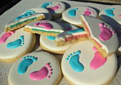 1 Dozen Gender Reveal Cookies on Etsy, $40.00