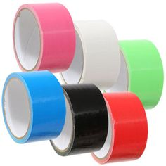 Bulk Tool Bench Duct Tape in Assorted Colors, 10-yd. Rolls at DollarTree.com