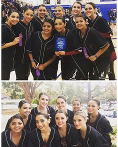 The Pom dance team not only got first place  and qualified for Nationals at the competition at Agoura High but it scored the highest the team has ever done in this division. Way to go! #dance