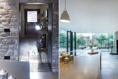 Jonathan Tuckey Design has remodeled aGrade II Listed cottage in Oxford with a new extension housing a kitchen and dining room.