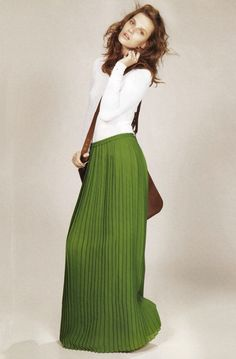 need a green maxi in my life.