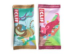 Packaging of the World: Creative Package Design Archive and Gallery: Artist Edition Clif Bar (Student Work)
