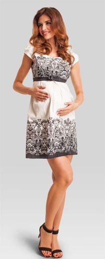56efd1d3 Carmelia платье для беременных из тонкой хлопковой ткани Maternidad Elegante,  Batas De Maternidad, Lactancia