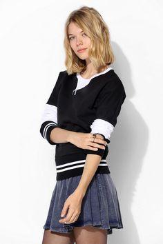 Scott By Scott Varsity Pullover Sweatshirt #urbanoutfitters