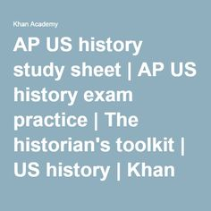 How do you study for AP US History?