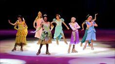 Princess Tiana, played by Kassy Kova, Disney on Ice, Princesses and Hero...