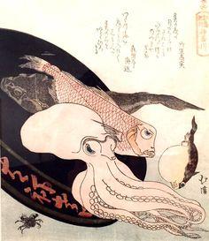painting by Totoya Hokkei ~ Asian Art Museum